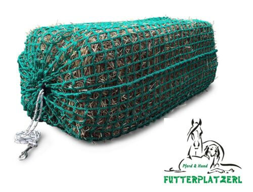 Slow Feeder Masche 6cm QUADERBALLEN HORSEFEED BOX Heuballenheunetz