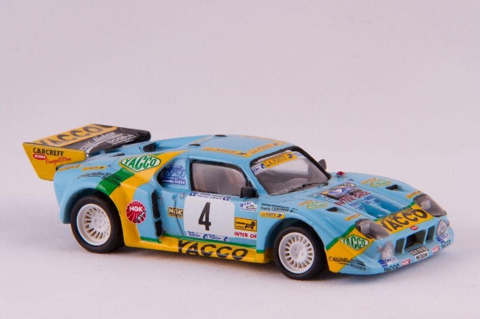 Miniature kit voiture ccc  renault scora   kim  1991-1992 footnote 96  livraison éclair