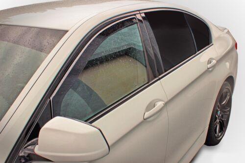 Viento desviadores 2pc Tinted Heko Frontal Para VW Tiguan II 5 puertas 2016-up