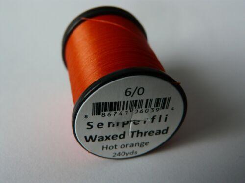 240 yds Semperfli Classic Waxed Thread 6//0