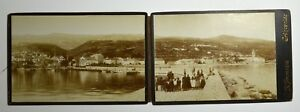 Cabinet-Photo-Set-of-2-photo-CRIKVENICA-Croatia-G-B-BRONZINI-VERY-RARE-2843