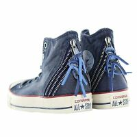 Converse Ct Tri Zip Hi.. White/ Blue/ Red.. Size 8.. Fast Shipping