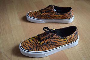 Vans Authentic 36 37 38 39 40 41 Tiger VN 0 TSV8VF 80 039 s Classic Old Skool Skate