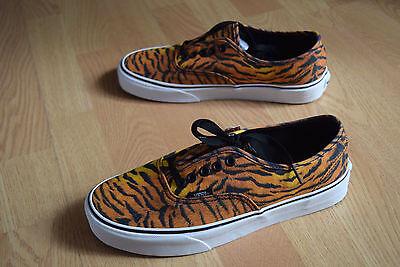 Vans Authentic 36 37 38 39 40 41 Tiger vn 0 tsv8vf 80's Classic old skool skate | eBay