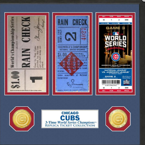 NIB! World Series Chicago Cubs Ticket Collection 633204