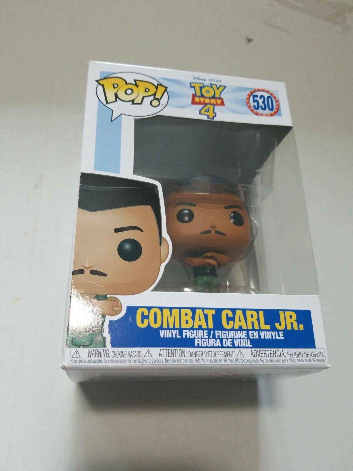VINYL FIGURE #530 DISNEY:TOY STORY 4 FUNKO POP COMBAT CARL JR