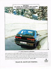 PUBLICITE ADVERTISING 025  1994  RENAULT 19   1° voiture importée en ALLEMAGNE