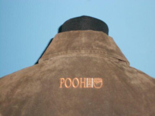 Pooh Suede Kvinders The Brown Mint Jakke Disney Condition Læder Medium Winnie pg1xTT