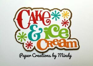 CRAFTECAFE-MINDY-BIRTHDAY-cake-Party-premade-paper-piecing-TITLE-scrapbook