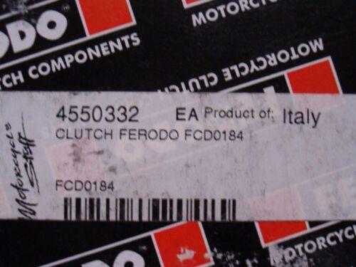 Ferodo Clutch Plate Set:1997-2000 Honda GL1500 Goldwing