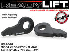Suspension Leveling Kit-2.5 in. Forged Torsion Keys Front Ready Lift 66-2000