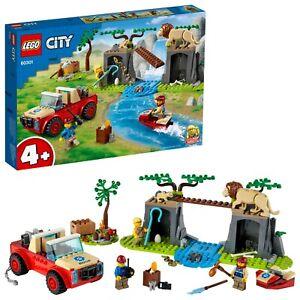 Lego 60301 City Wildlife Wildlife Rescue Off-Roader