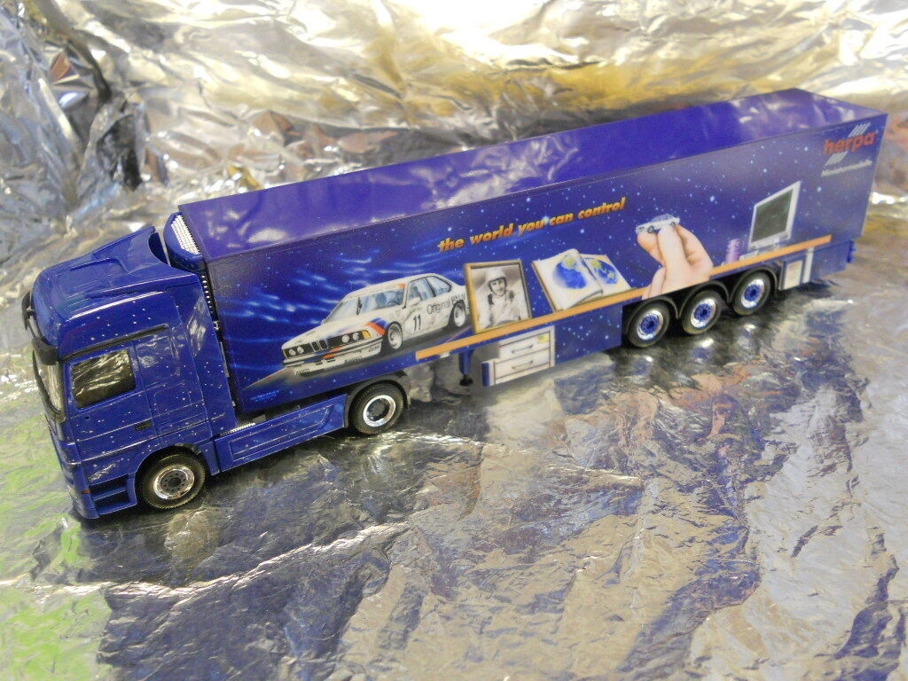 Herpa 297844 MB Actros LH 08 Refrigerated Box Semitrailer Herpa Emotions 11