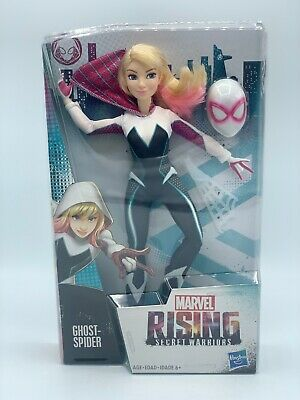 """Marvel Rising Secret Warriors Gwen Stacy Ghost-Spider 11/"""" Action Figure Doll NEW"""
