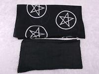 2 ALTAR CLOTHS  witch/wicca/pagan/occult/goth/tarot/altar cloth/spell/craft