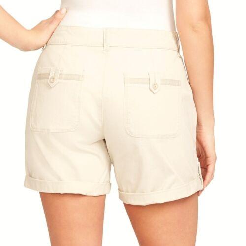 NEW Women/'s Gloria Vanderbilt Misha Shorts Stretch Cuffed Plus or Missy Sizes