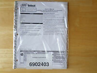 Bobcat Model Ba5.5-w Air Compressor Owner's Manual 2002 sealed