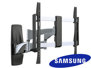 premium full motion samsung tv wall mount 37 40 42 50 55 60 65 70 inch lcd led ebay. Black Bedroom Furniture Sets. Home Design Ideas