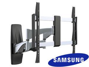 premium full motion samsung tv wall mount 37 40 42 50 55 60 65 70 inch lcd led ebay. Black Bedroom Furniture Sets. Home Design Ideas