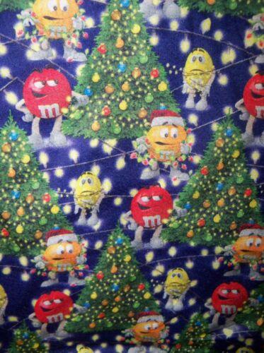 M/&M M/&M/'s Christmas Tree Holiday Sleep Lounge Pajama PJ Pants Mens Medium