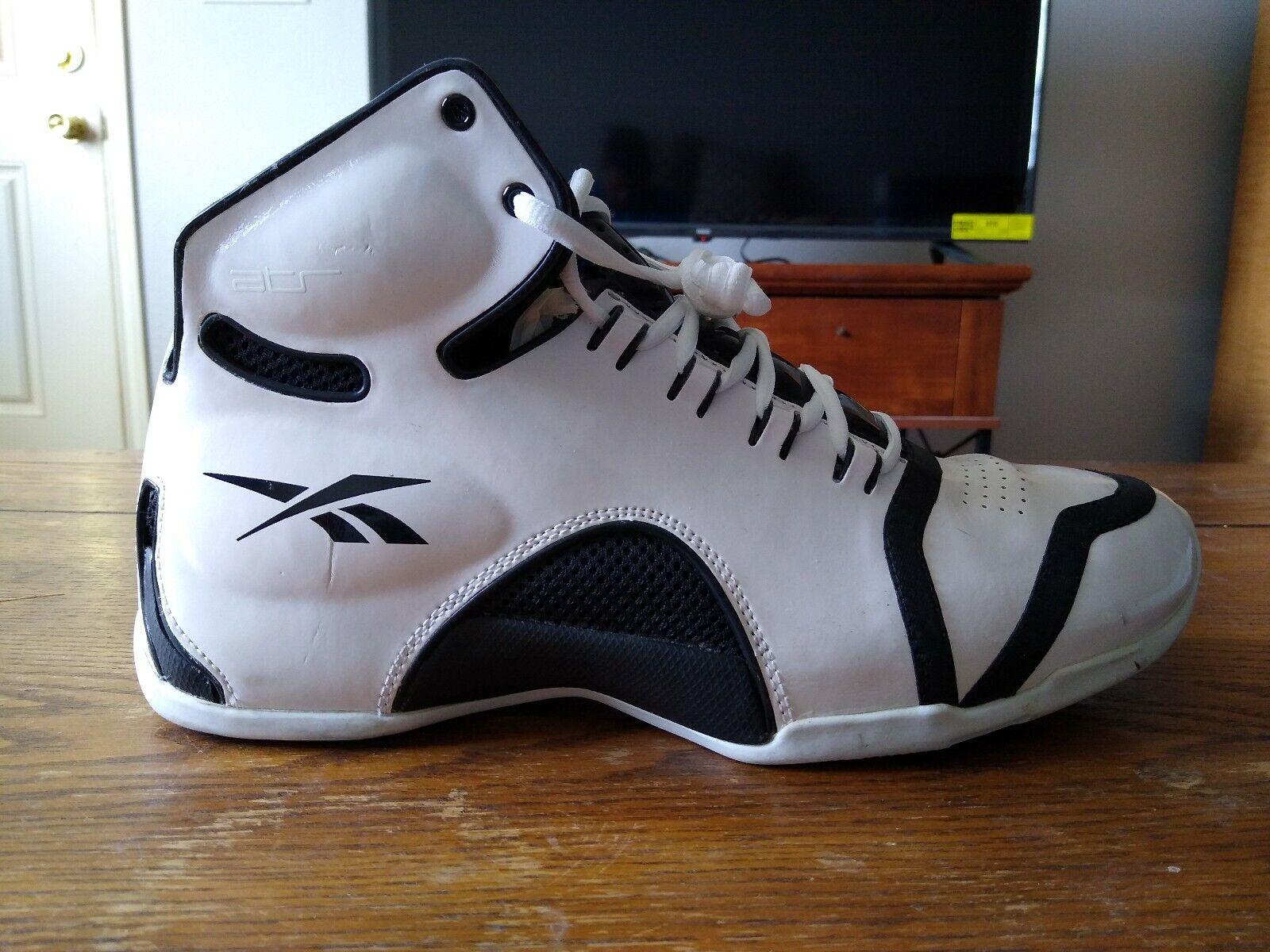 aniversario Orador Ordinario  Reebok ATR Black/White Basketball Shoes Size 12 | eBay