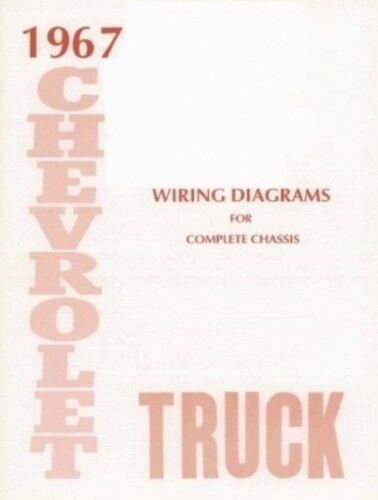 CHEVROLET 1967 Truck Wiring Diagram 67 Chevy Pick Up