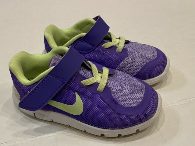 Nike Free 5.0 Toddler Baby girl Purple Athletic Shoes Size 8c excellent condit