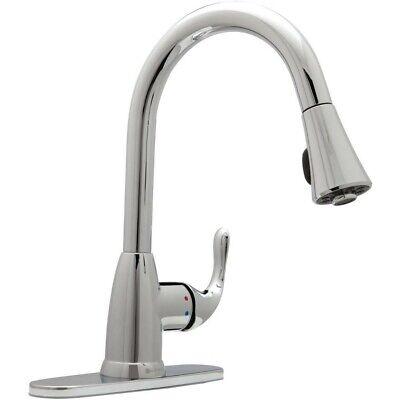 Glacier Bay HD67551-0301 Market Single-Handle Pull-Down Sprayer Faucet Chrome