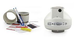 Bien éDuqué Radonaway Rp145 Radon Fan & Installer Kit Raccords & U-tube Manomètre à Vide & étiquettes-afficher Le Titre D'origine