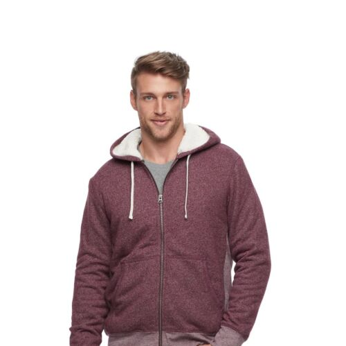 NWT Men/'s SONOMA Goods for Life Classic Fit Supersoft Fleece Hoodie FAST SHIP