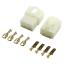 miniature 19 - Connettore automotive crimpare Spina Faston 6.3mm 1-6 pin Auto Moto terminale