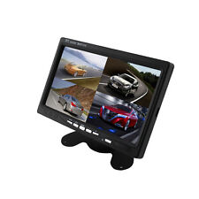 7'' TFT LCD 4 Way Car Monitor Display For Rear View Camera DVD GPS With Remote