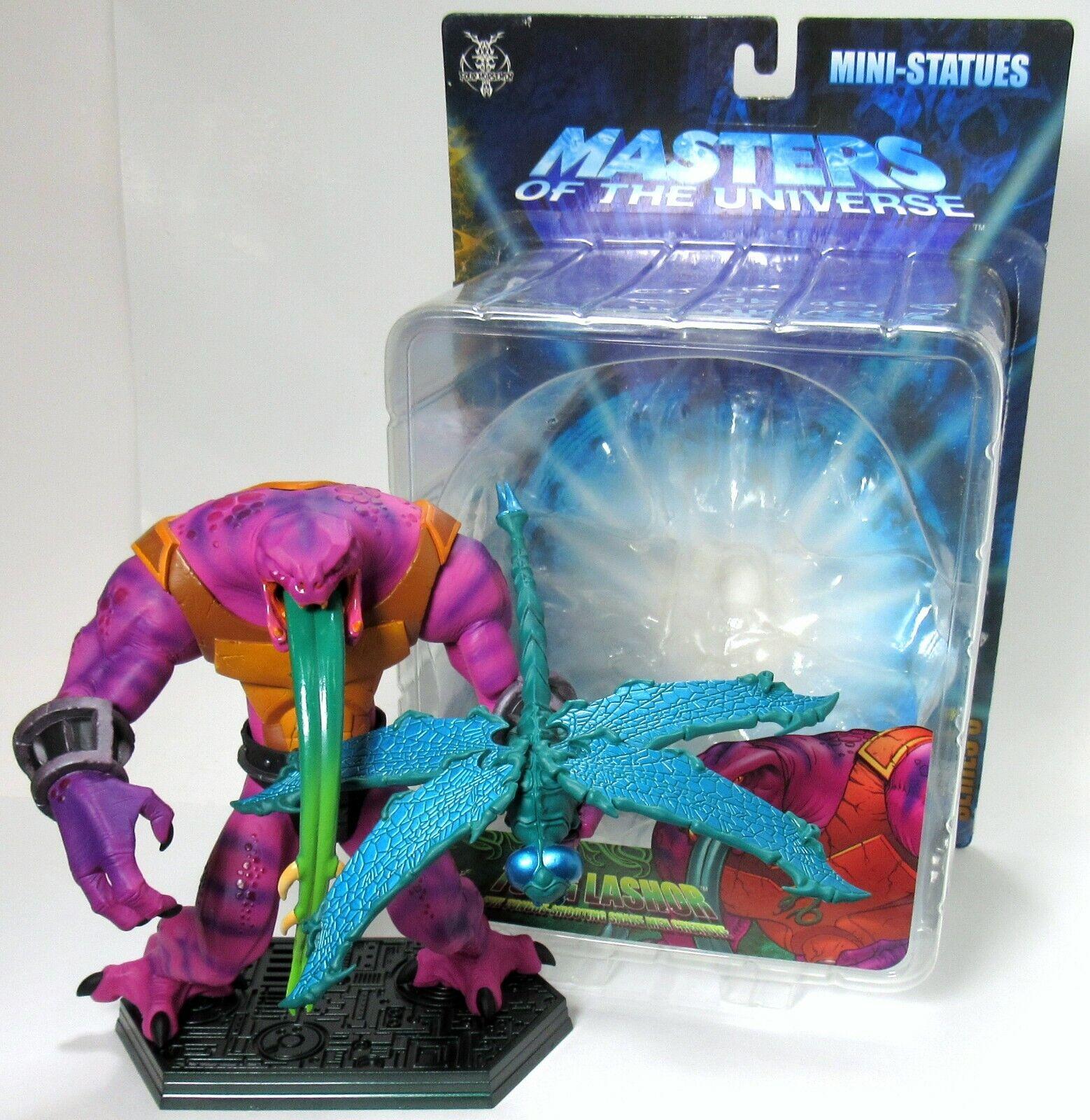 Open NECA He-uomo Masters of the Universe 200X Mini  Statue Tung Lashor  shopping online e negozio di moda