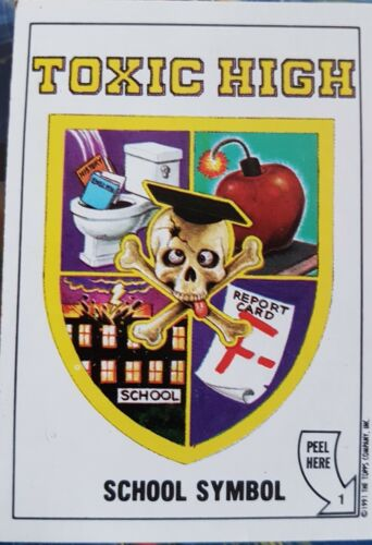 TOXIC HIGH SCHOOL X5O LOOSE STICKERS