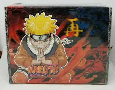 Naruto TCG CCG The Chosen 1st Edition Factory Sealed Booster Box 24ct