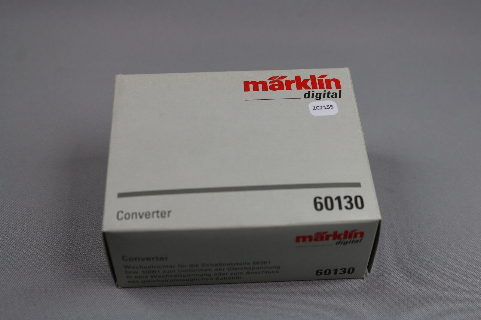 ZC2155 Marklin digital train 60130 converter onduleur convertisseur 66361 60061