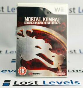 Wii-Mortal-Kombat-Armageddon-gleichen-Tag-versandt-Boxed-sehr-guter-Zustand-Nintendo