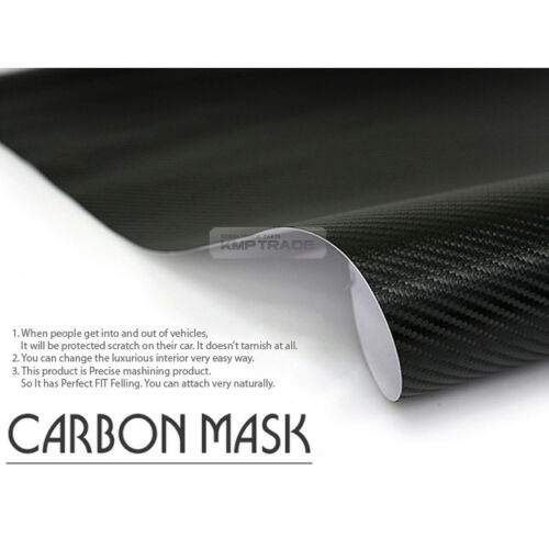 Carbon Rear Bumper Protector Decal Sticker Cover for KIA 2015-2018 Sorento UM