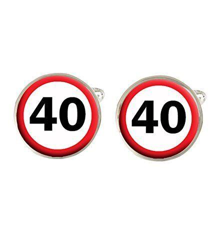 40th Cumpleaños Señal De Tráfico Para Hombre Gemelos Ideal Regalo De Cumpleaños C326-ver EscalofríOs Y Dolores