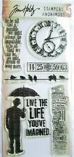 Tim Holtz Life Possibilities Clear Stamp Set Hc009