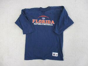 VINTAGE-Florida-Gators-Shirt-Adult-Large-Blue-Orange-UF-Long-Sleeve-Mens-90s