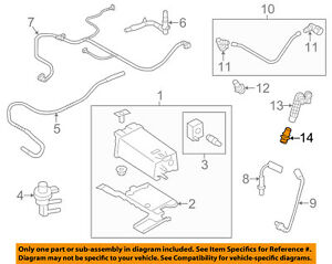 Details about FORD OEM-Pcv Valve 2X4Z6A666AA on