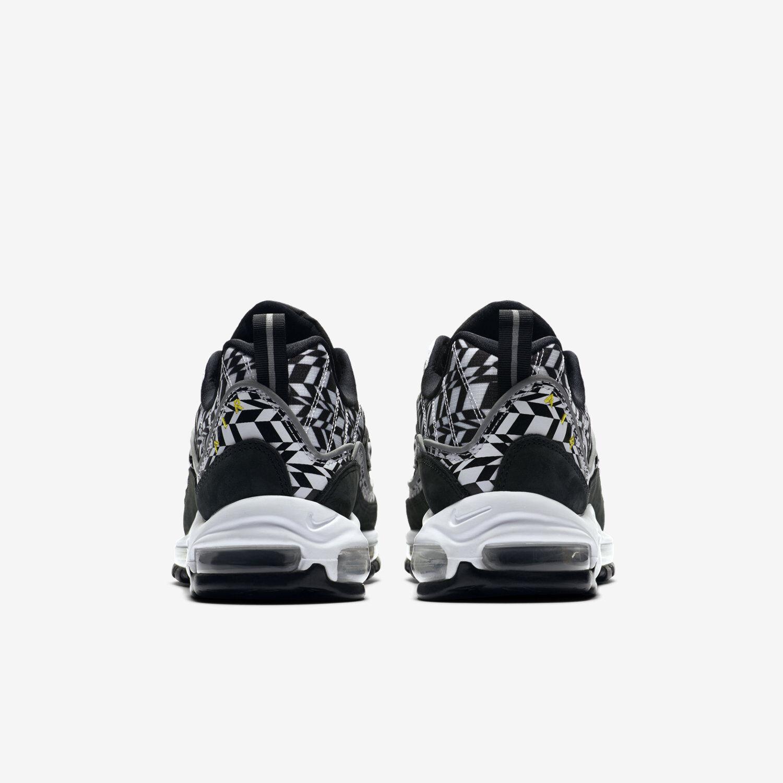 Men's Nike Air Air Air Max 98 AOP All Over Print Sz 7.5 White orange Black AQ4130 100 2bd833