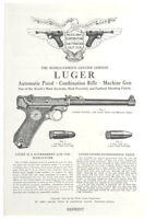 1922 Pacific Arms Corporation Luger Mauser Pistol Catalog Reprint NEW