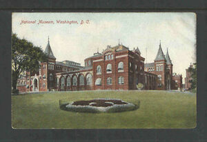 1910s-NATIONAL-MUSEUM-WASHINGTON-DC-POSTCARD