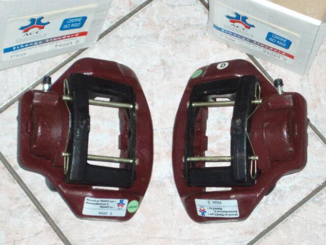 PEUGEOT 504 505 604 : étriers avant D + G model Ate 54 mm complet marque ACC