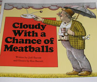 Cloudy With A Chance Of Meatballs (brand Paperback) Judi Barrett