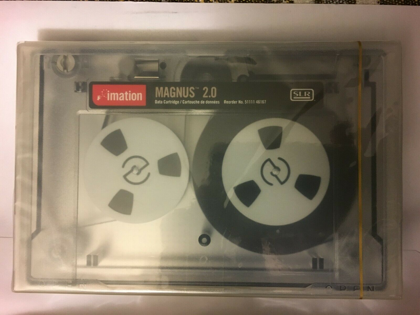 Magnus 2.5 GB Data Cartridge SLR 4 5 GB Imation 46168 Tape