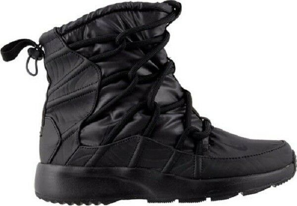 Nike Women's Tanjun High Rise Boots AO0355 002 Black-Anthracite Brand New in Box