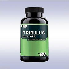 OPTIMUM NUTRITION TRIBULUS 625 (100 CAPSULES) test testoterone booster caps on